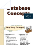 Database Concepts -PGDM Induction