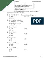 Matematika Sd Kelas 2 - Latihan Ulangan Semester II Oleh Amin Mustoha Dkk