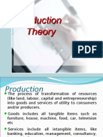thory of production