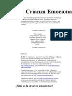 CRIANZA EMOCIONAL