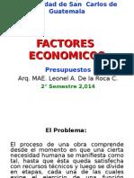 1. FACTORES  ECONOMICOS