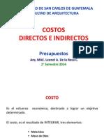 2. Costos Directos e Indirectos