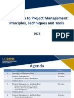 Projectmanagement training Like Ppt
