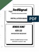 KN53 INSTALLATION MANUAL