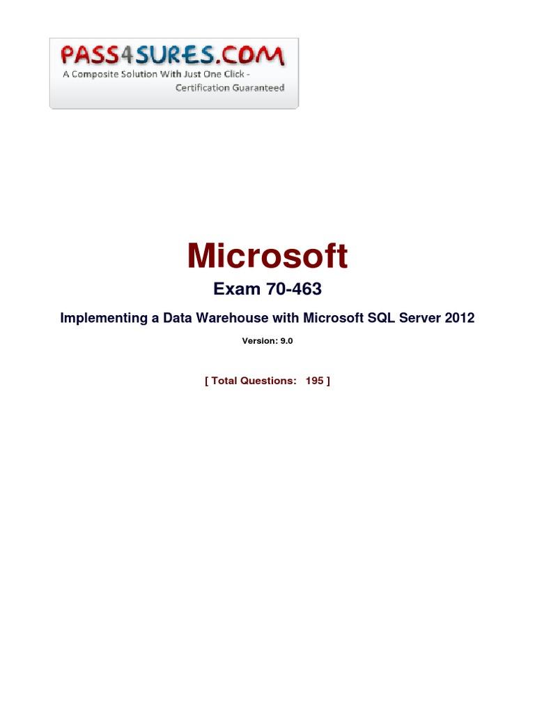 Microsoft 70 463 microsoft sql server language integrated query xflitez Gallery