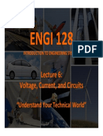 Voltage, Current, and Circuits