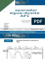 Separador Agua-Aceite API