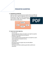 Resume Algoritma & Struktur Data