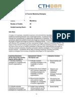 PG Qualification Handbook- Hospitality and Tourism Marketing Strategies