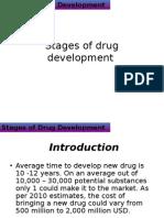 Stages of Drug Development