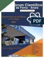 Anais VII Forum - FEMA