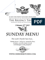 22022015 Sunday Menu