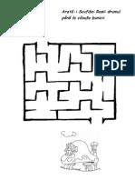 Labirint Scufia Rosie Si Casa Bunicii