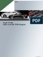 Ssp_451 - Audi TT RS Avec Moteur TFSI R5 de 2,5 Litres