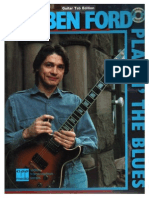 Robben Ford Playinthe Blues