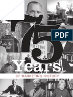 75 Years of Markting History