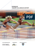 IOC World Conference on Prevention of Injury and Illness in Sport - April 2014 - Presentation