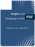 A-F 116 Prepositions
