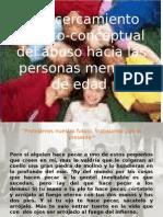 Un Acercamiento Teórico-conceptual Del Abuso Hacia Las Personas