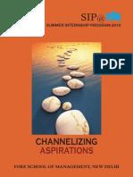 SIP Brochure 2014