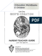 Godscreation Parentteacher Guide