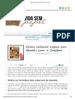 0-Como colocar capas nos ebooks com o Calibre.pdf