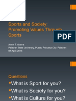 Sports and Society (1)