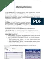 ESTADISTICA-NOCIONES FUNDAMENTALES