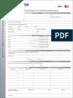 Tarjeta de Credito Empresarial