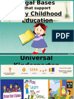 legal bases on early childhood educ