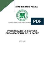 Programa de Cultura Organizacional