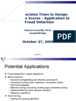 Hidden Decision Trees to Design Predictive Scores