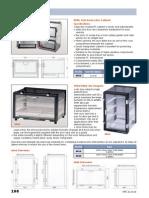Vitrinas Secadores Especificaciones Tecnicas