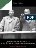 Enver Hoxha; Sobre el decálogo ballista de Mao Zedong, 1976.pdf