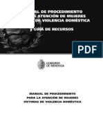 Protocolo de Intervención ante una denuncia de Violencia contra una Mujer