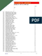 WAB2.0 Army List (Medieval)