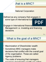 Chapter 01 - Multinational Financial Management - An Overview