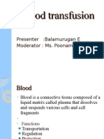 bala murugan blood transfusion