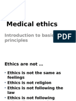 Medical Ethics Basic Prinsip