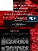 Leukocyte Reduction's Role yis.ppt