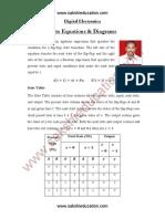DigitalElectronics StateEquations Diagrams