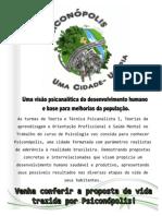 PANFLETO PSICONOPOLIS