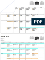 testing schedule 2015