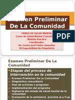 Examen Preliminar de La Comunidad