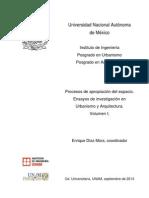 Ensayos de Investigación en Urbanismo y Arquitectura Vol I, 2013-2