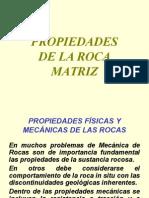 propiedades de La Roca Matriz