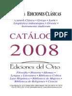 Ediciones Clásicas - Catálogo