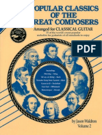 Waldron Jason - Popular Classics of the Great Composers Vol2