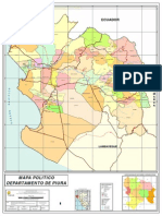 49.Mapa Politico Del Departamento de Piura
