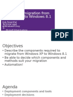 Module 1-Automating Migration From Windows XP to Windows 8-1 (1)